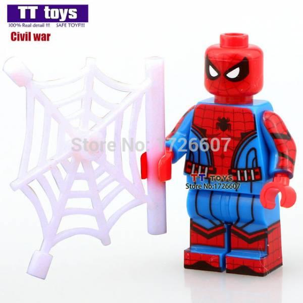 Herobloks Spider Man Civil War