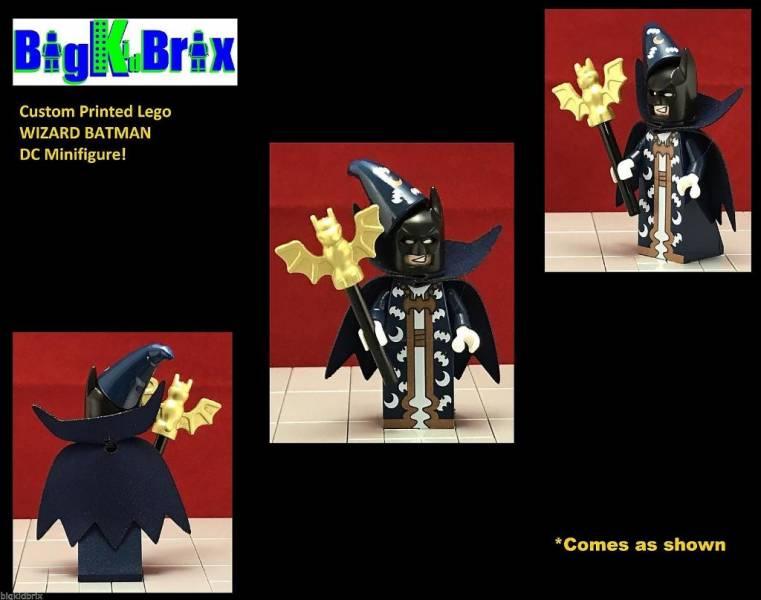 Lego Figure Wizbat coltlbm23