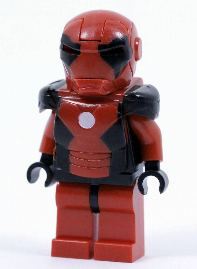 Marvel Toy Kids Southpaw Avengers Minifigure Lego Custom Iron Man MK 34